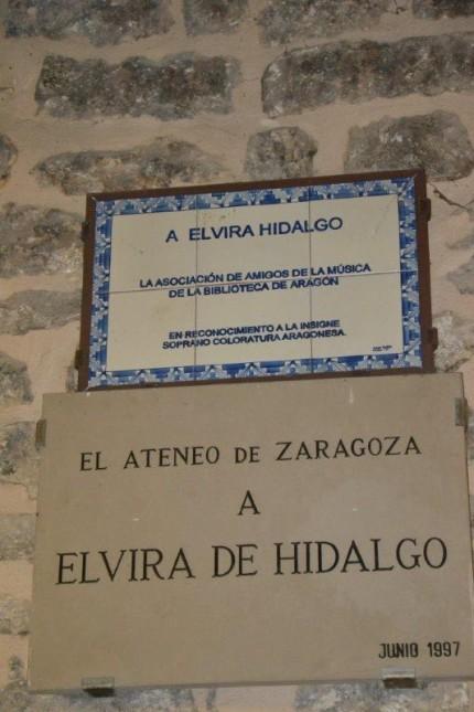 casa natal de Elvira de Hidalgo en Valderrobres