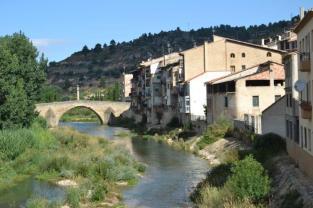 Rio Matarraña en Valderrobres